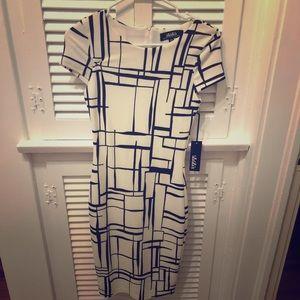 LuLu's Black and White Dress
